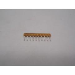 Resistor sip 4.7k 9r 10 5%
