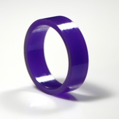 Super-Bands flipper rubber purple