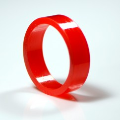 Super-Bands flipper rubber red