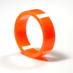 Super-Bands flipper rubber orange