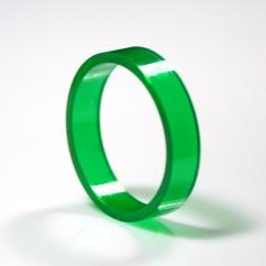 "Green Super-Bands Flipper Rubber 1.5"" ID x .375"" Wide suit Gottlieb"