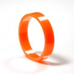 "Orange Super-Bands Flipper Rubber 1.5"" ID x .375"" Wide suit Gottlieb"