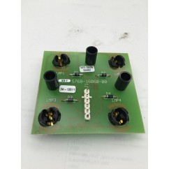 4 lamp assembly board