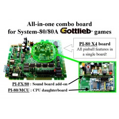Gottlieb PI-80 the all-in-one System-80/80A combo board pascal