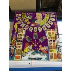 Gottlieb Queen of Diamonds Backglass