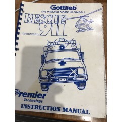 Rescue 911 used manual