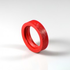 BEADED FLIPPER RUBBER RING RED A-13149 Gottlieb