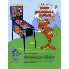 Rocky and Bullwinkle rubber kit - white
