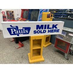 Pauls Milk Bar Sign