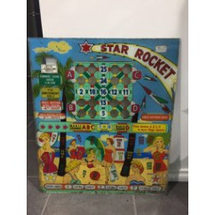 star rocket gaming backglass