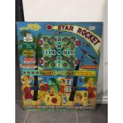 star rocket gaming backglass