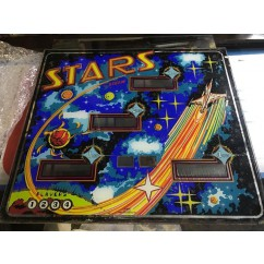 Stern Stars Backglass