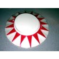Pop bumper cap - Sun Red
