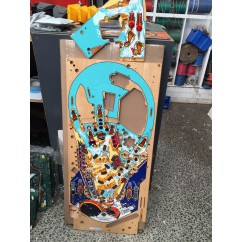 White Water  playfield with mini playfield