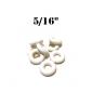 "Premium 5/16""  White  Bumper Post Rings"