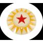 POP BUMPER CAP RED STAR Y/R
